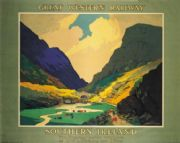 Southern Irish Railway Travel Art Poster.The Gap of Dungloe, County Kerry, Ireland